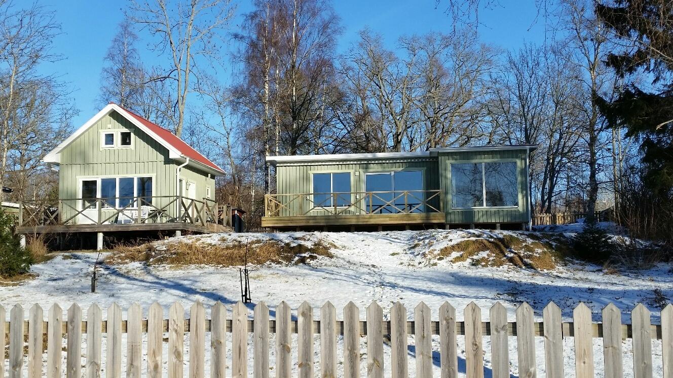 "Stuga sverige, Östergötland, 59152 motala: ""fritidshus varamobaden"""